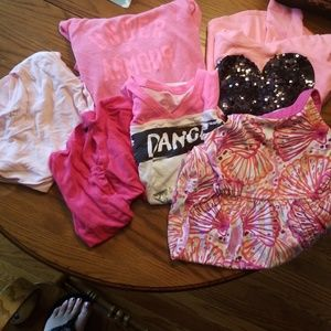 6 piece girls pink bundle